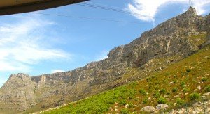 10 B table mountain de la cabine