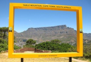 6 table mountain encadrée