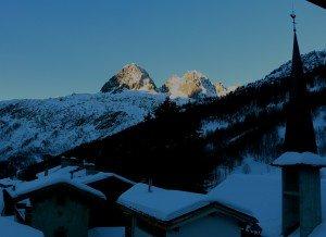 lever de soleil en montagne A