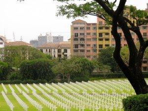 Manille cimetière américain D