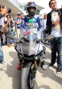Yamaha R1 Jorge Lorenzo J