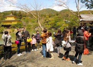 kyoto temple - selfie 3