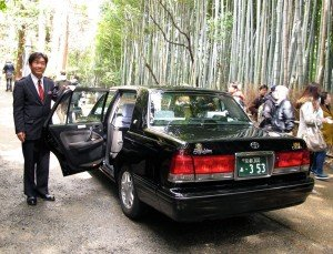 Japon taxi Kyoto AA
