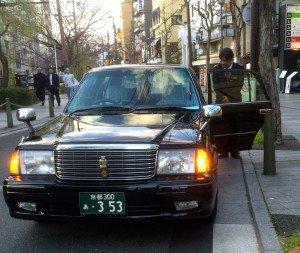 Japon taxi Kyoto S