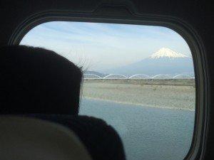 Japon train Z intérieur Fuji