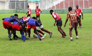 rugby à 7 match 2