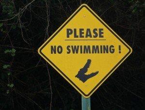 Bateau signe no swimming