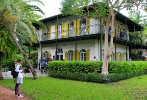 Key West - maison Hemmingway et Kasia