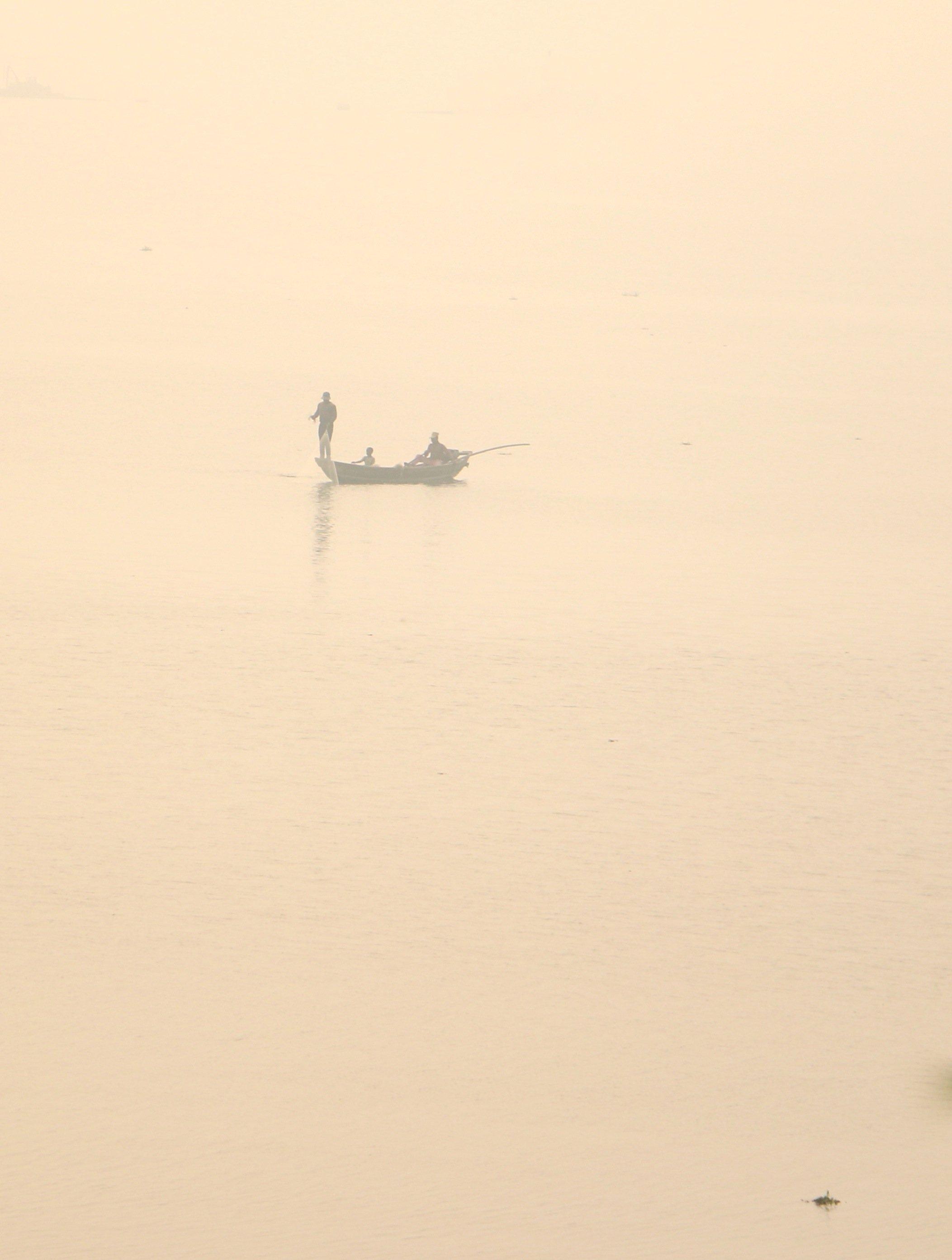 Pêcheur lagune A