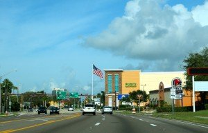 Sarasota centre - gande rue