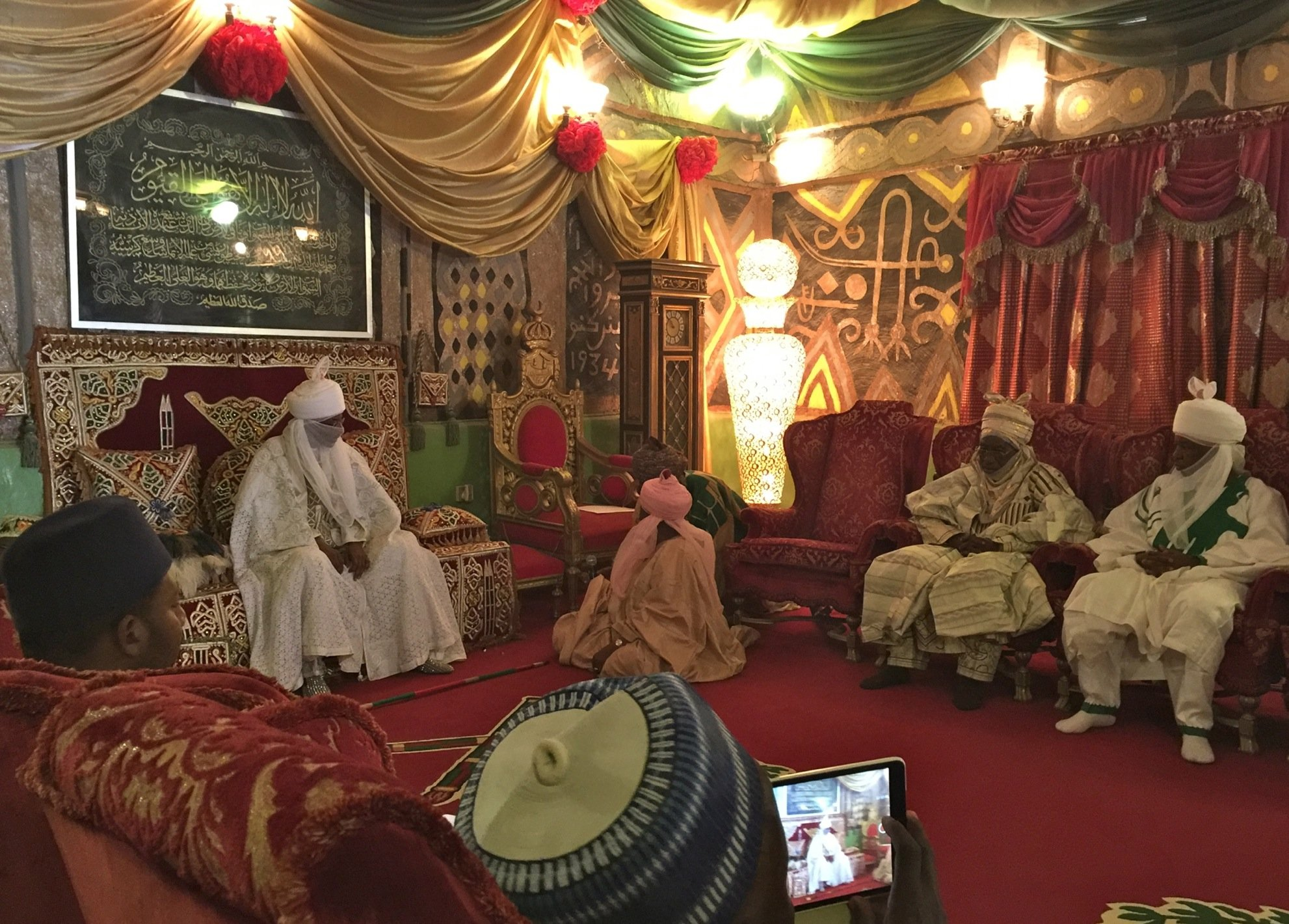 Emir de Kano - Palace english room