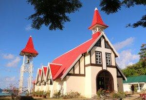 Eglise au toit rouge - réduite