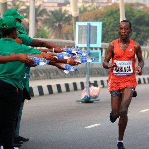 Marathon 5 - Karinga ravitaillement