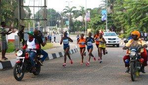 Marathon 7 - peloton des femmes face