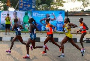 Marathon 8 - peloton des femmes profil