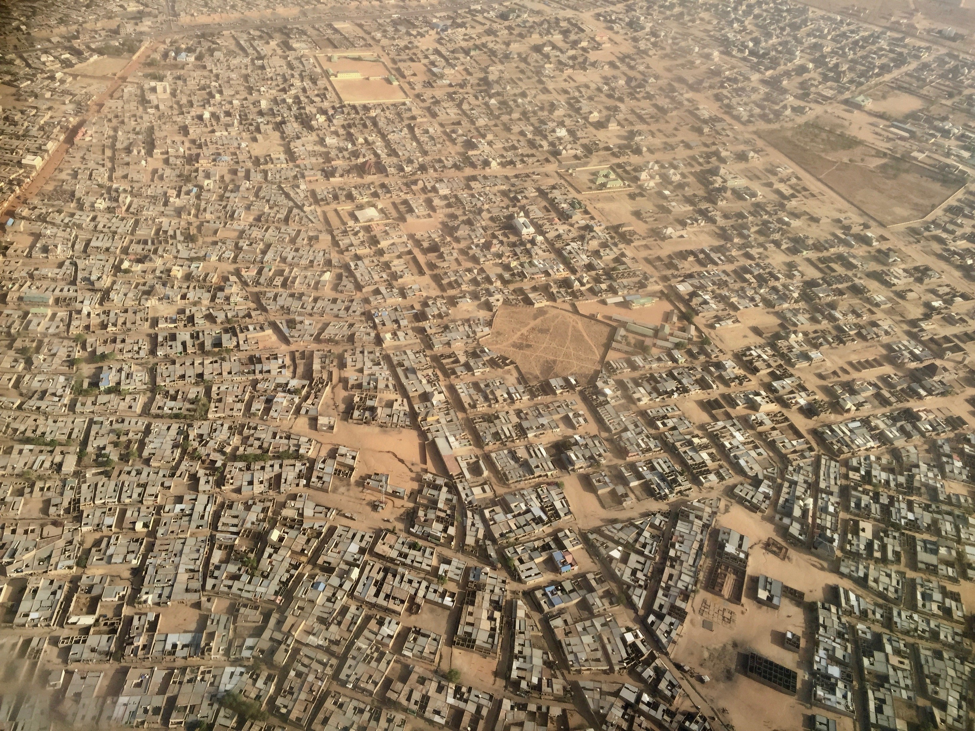 Kano vue d'avion