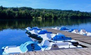 Lac d'aubusson 16 aout - BLEU
